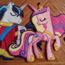 "4"" tall Set of Cadence and Shining Armor"