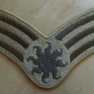 "4"" Solar Desert Uniform Rank Patch"