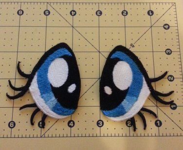 70mm Fluttershy Eyes