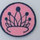 2 inch Diamond Tiara Merit Badge