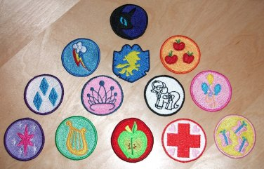 "2"" Merit Badge Set"