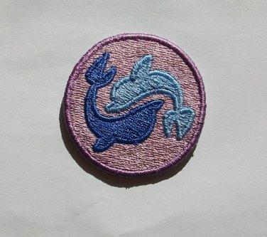 2 inch Seafoam Cutie Mark Merit Badge