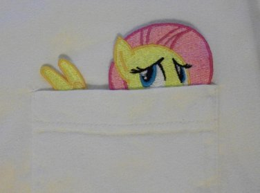 Fluttershy Pocket Topper Patch