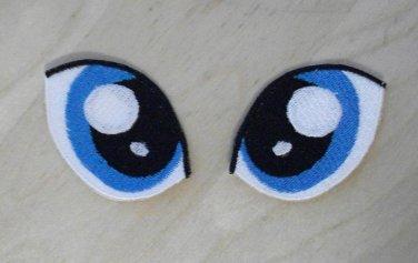 My Little Pony Eyes - Version 2 (Light Blue)