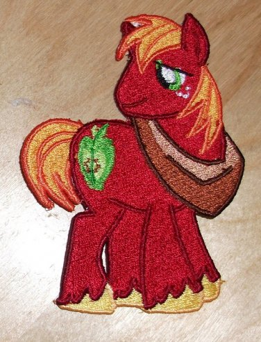 """Big Macintosh Standing Patch 4"""" With Tail"""