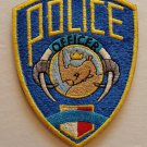 Zootopia Police Embroidered Patch
