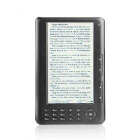 7 Inch E-Book Reader + HD Media Player (4GB)