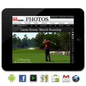 Cortex A8 - 8 Inch Touchscreen Android 2.2 (Froyo) WiFi Tablet