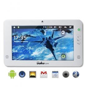 Ouku Tab - Android 2.1 Tablet with 7 Inch HD Touchscreen (white)