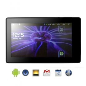 C-MID Slate (Graphite) - 2.1 Android Tablet with 7 Inch Touchscreen Wi-Fi + HDMI