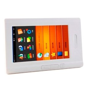 Touchscreen E-Book Reader and HD Media Player (4GB)