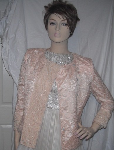 Christian Dior Jacket Lace Pearls