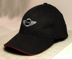 01bbef8f916 Official MINI Cooper Hat Cap with Wings Embroidered Logo