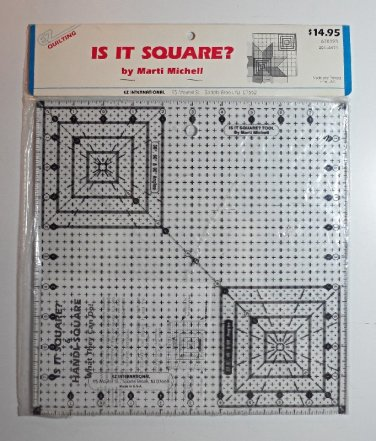 EZ Quilting-Is It Square? Tool By Marti Michell