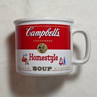 Vintage Campbell's Homestyle Soup Bowl / Mug