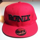 Ronix Wakeboards Fitted Cap Hat - Red, 7 1/2, Flat