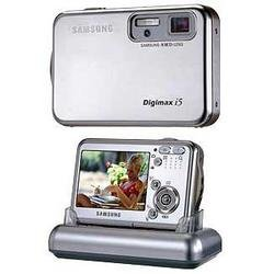"Samsung Digimax i5 - 5.0 Megapixel Digital Camera with 3x Optical Zoom & Large 2.5"" LCD"