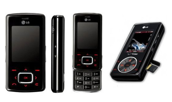 "LG KG800 - GSM Bluetooth Camera ""Chocolate"" MP3 Cellular Phone (Unlocked)"