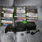 Xbox System With 50 games 1 Controller DVD Kit Memory Card