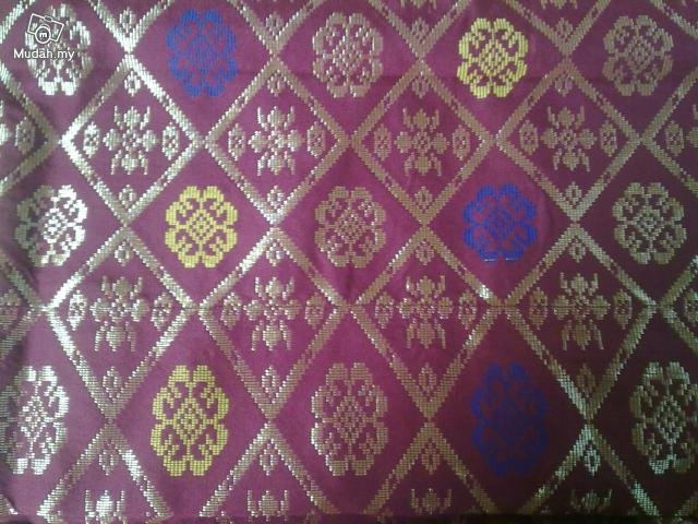 Gold Thread Songket (Brocade)