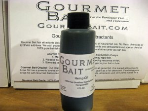 Gourmet Bait Hemp Oil 4 oz.