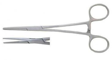 """5.5"""" Straight Hemostat Forceps Locking Clamps - Stainless Steel"""