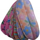 12 GIRL DIAPER LINERS (DOUBLERS)