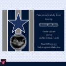 Printable Sports Football Birthday Party Invitations Baby Shower Print Yourself