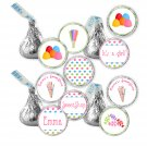 Hershey Kiss stickers - Printable Personalized Sweetshop Candyland Party Occasion Labels