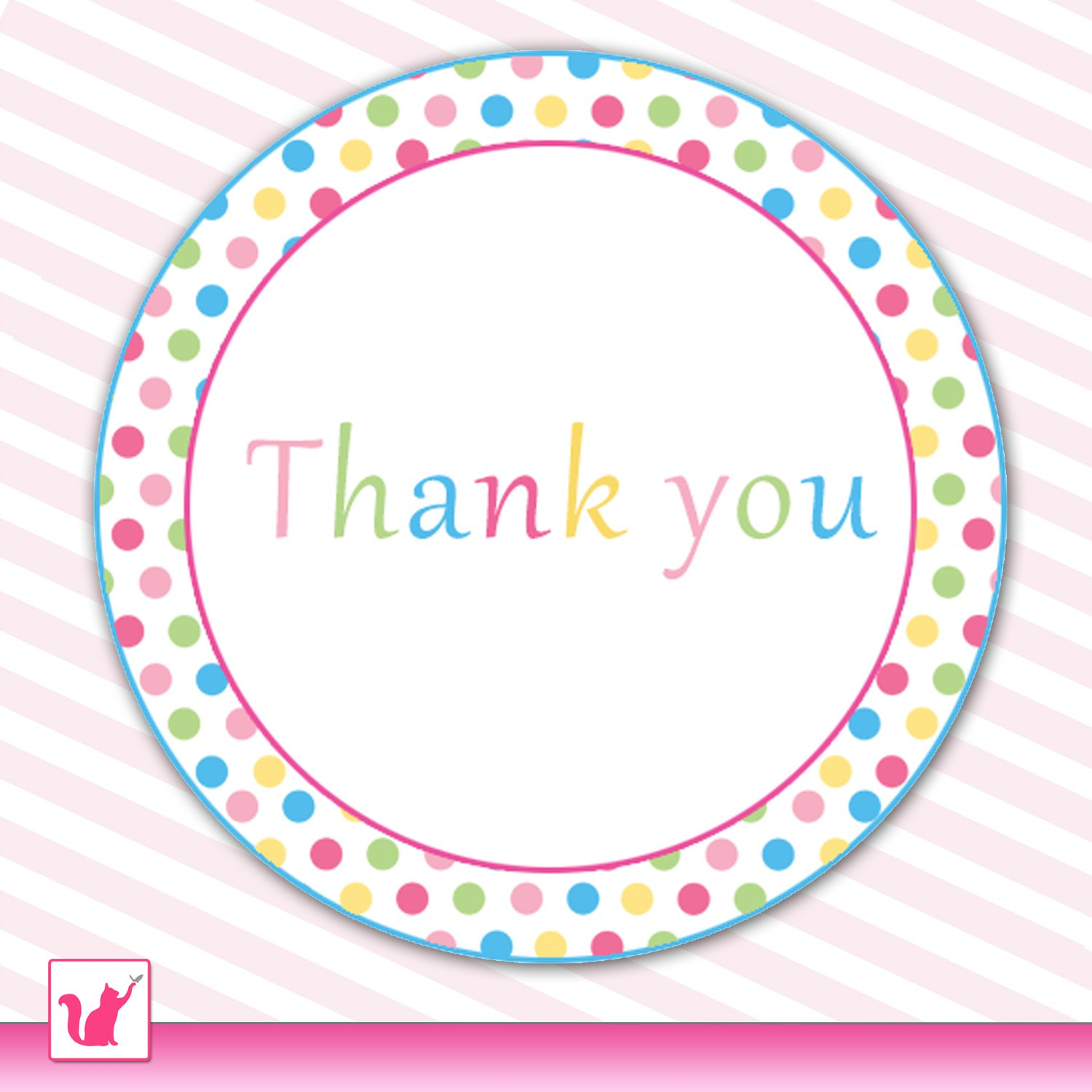 Printable Sweetshop Candyland Thank You Tags 2 Baby Shower