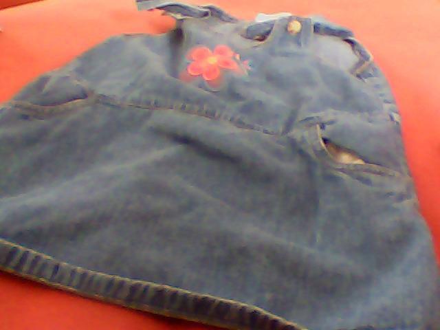 girls toddler dress 3T flapdoodles cotton sleeveless flower nice