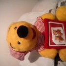 "Winnie the pooh large stuffed,plush bed time shirt and hat cute unique 16"" nice"
