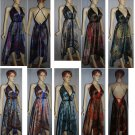 5 Scarf Dress Top Fast Colors 2 ring free ship
