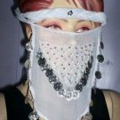 Face Veil Two Different Color Just Arrived Black & Whit