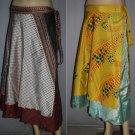Wholesale 10 pc  Skirt Magic Wrap *Vintage* Boho Sarong 100 ways to wear