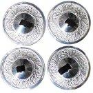 Indiantrend Sagat Zills Finger Cymbals Silver tone 16 Pcs zill