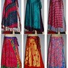 Wholesale Price 20 pcs Skirt Sari Wrap *Vintage  Sarong Large Size
