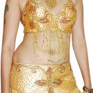 Gold Gold Bollywood style Dance EHS Costume