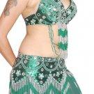 Green Unique Dance EHS Costume Indiantrend 2263 Dancers Adjustable