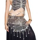 Black Hot Birght  Gorgeous Dance EHS Costume full circle skirt