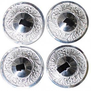 Silver Tuned Zills Finger Cymbals Fine Metal 2 pair new arrival