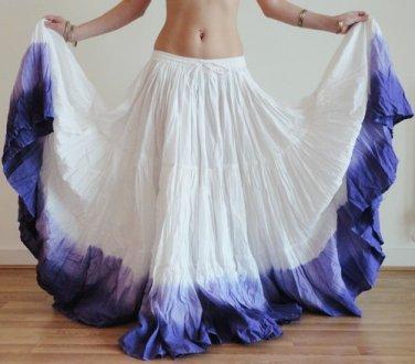 25 Yard Gypsy Tribal Danc Skirt  New 100%  cotton  resinance