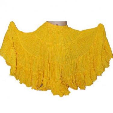 25 yard  100% Soft Cotton skirt Tribal Gypsy RENAISSANCE GOTHIC