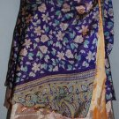 Double  Layer sari Wholesale 20 pc Multi Wrap Vintage Boho Size small beach wear