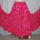 ATS Tribal Belly Dance Polka Dot Skirts - Quick shipping