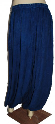 Women Blue Denim harem pants 5 pcs - new product Indigo color