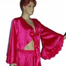 4 Top  Gypsy dance satin fabric tops - 4 diffrent colors