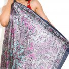 25 pcs assorted color and designs women silk scarves