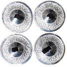 Zills Finger Cymbals 2 pair new  Dance Belly Dance Saget