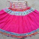 Jaipuri Banjara style Vintage Tribal Art Skirt - Multiple Colors